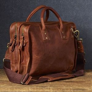 Will Co. Leather Goods briefcase